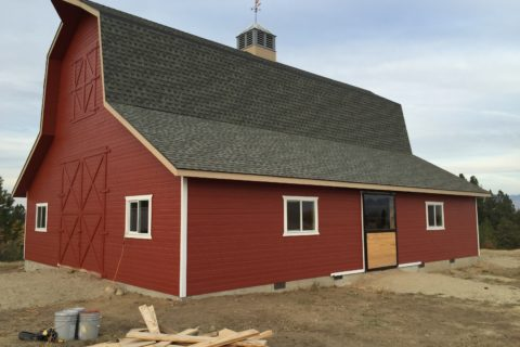 Exterior Painting Barn